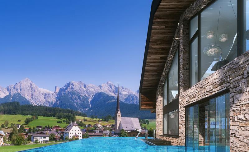 Hauseigener Brunnen direkt vorm CHALET4YOU in Schladming Dachstein