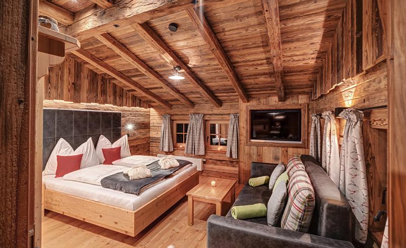 Die moderne und gemütliche Austattung des Highking Chalets Grünegg sorgen für ein wohliges Ambiente