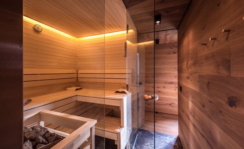 Die private Sauna bietet einen Ort der Ruhe und Entspannung- Ferienhaus Smaragdjuwel