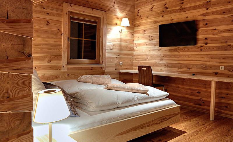 Das CHALET4YOU in Schladming überzeugt mit einer hochwertigen Innenaustattung aus Holz