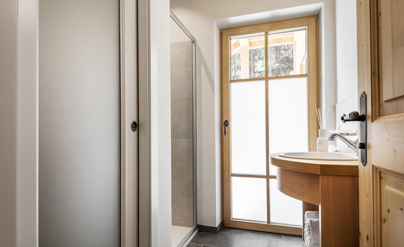 Die Badezimmer bieten viel Komfort