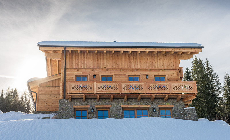 Luxus-Lodge Prenner Alm - Winter-Urlaub im Chalet
