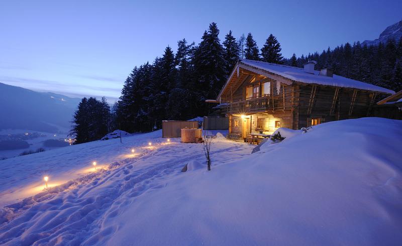 Winterzauber in Salzburg- Urlaub im privaten Luxus Chalet