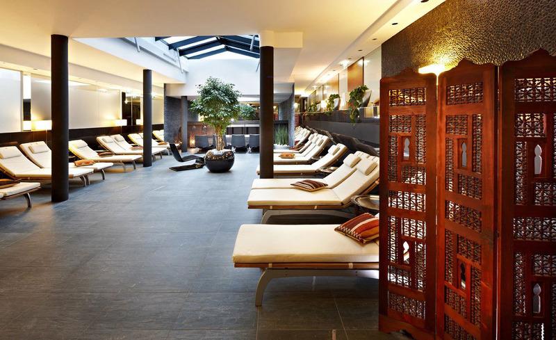 Ruheoase im Alpen-Karawanserai Time Design Hotel