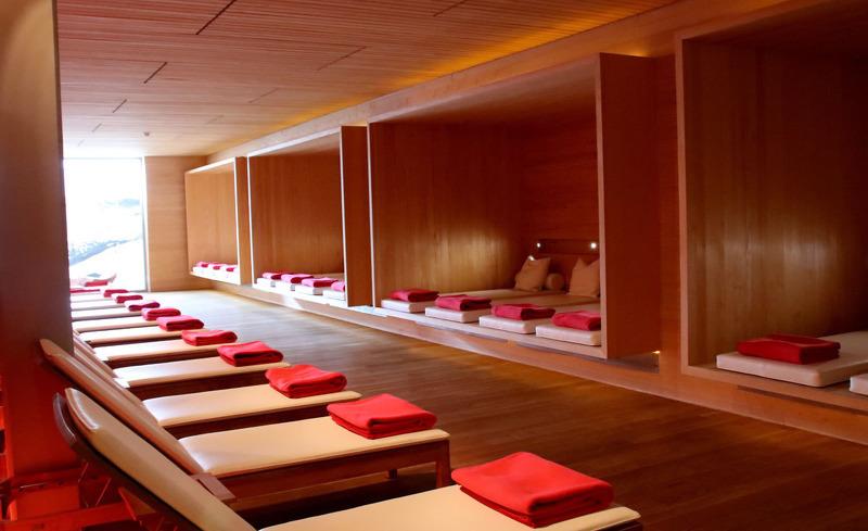 Wellness- und Spabereich des Gourmethotels Rote Wand