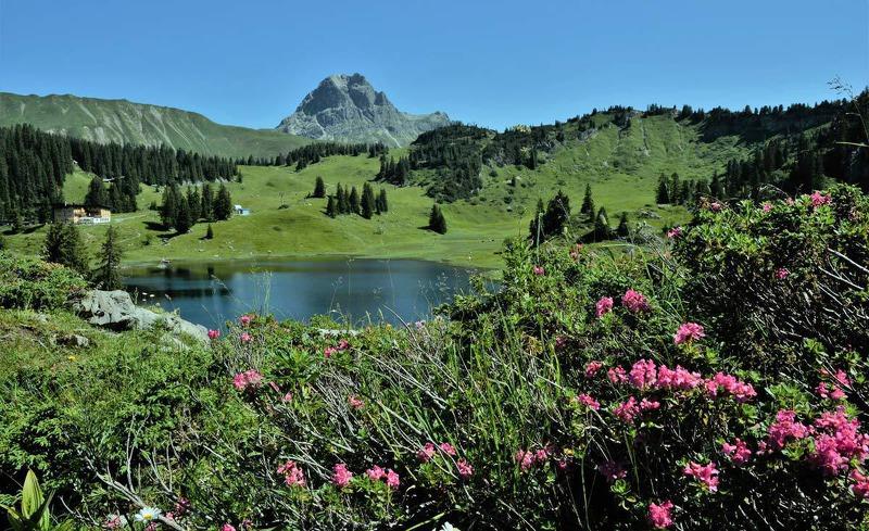 Sommerurlaub und Wanderurlaub am Arlberg der schönste Wanderplatz Österreichs