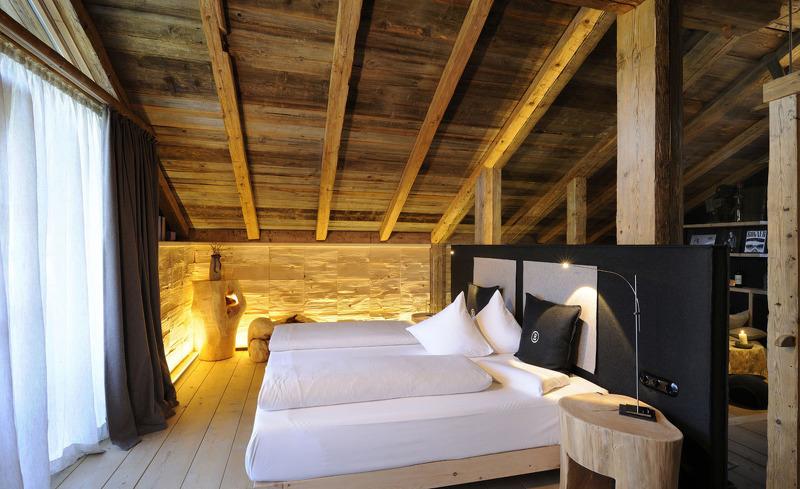 Die Bergdorf Chalets bestechen durch ihr edles Interieur