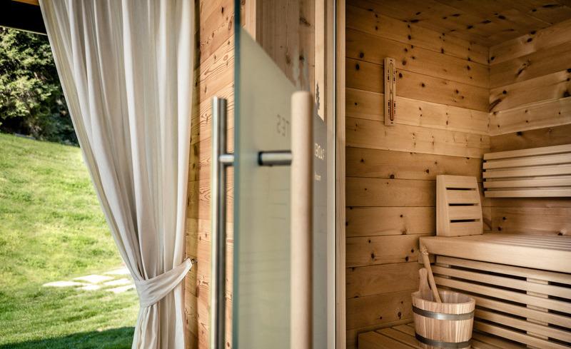 Private Sauna in jedem Chalet