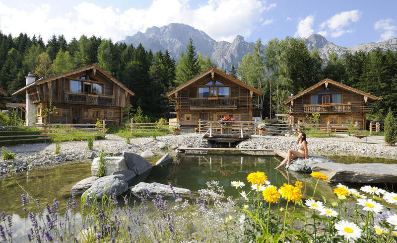 Sommerurlaub im Chaletdorf- Bergdorf Priesteregg in Leogang