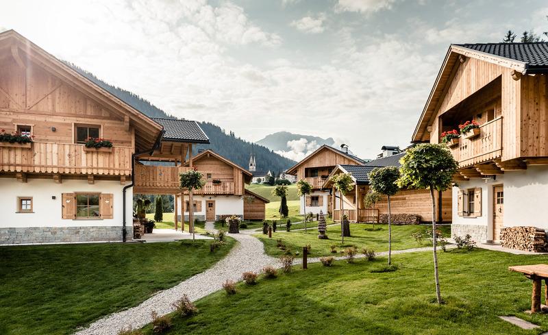 Die Pradel Dolomites Chalets in Südtirol