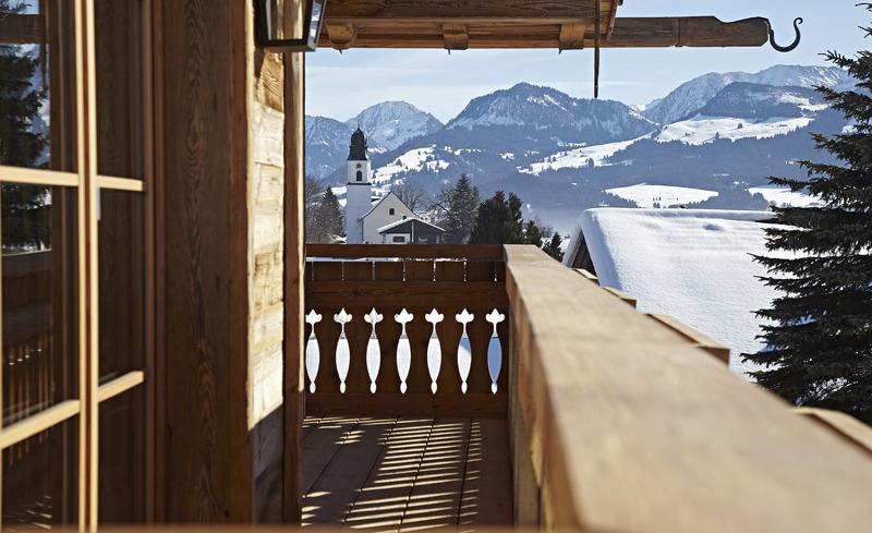 Winterurlaub im Luxuschalet- Chalet F im Allgäu