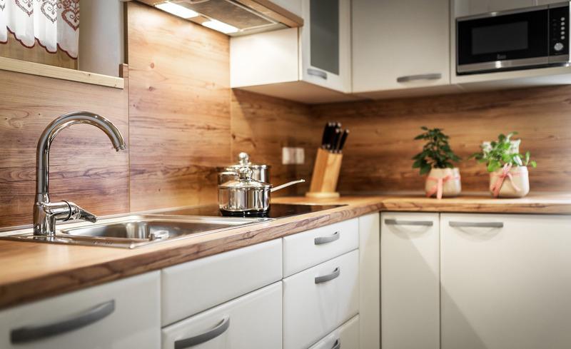 Sorgen Sie für Ihren persönlichen Genuss in der top modernen Küche- Pradel Dolomites, Italien