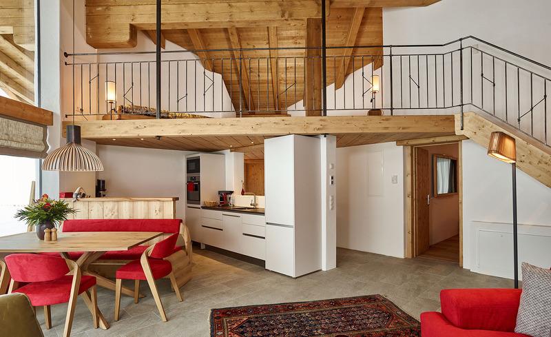 Die Löwen Chalets in Tirol überzeugen mit gemütlichen Ambiente in Landhausoptik