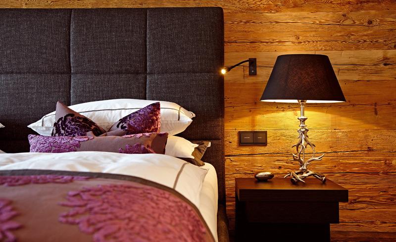 Liebevoll eingerichtete Schlafzimmer- Hüttenurlaub im Chalet F