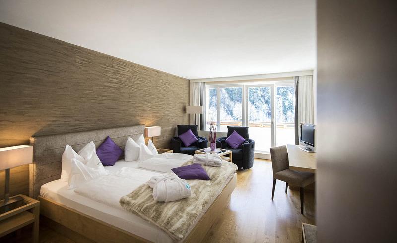 Genießen Sie Behaglichkeit und Wohlbefinden in den komfortablen Hotelzimmern- Erholungsurlaub in Ischgl