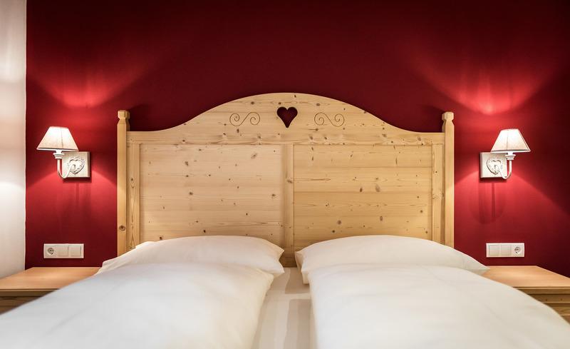Komfortable Betten in allen Chalets