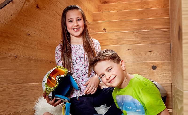 Das Familienzimmer im Smaragdjuwel bietet Platz für Kinder und Erwachsene