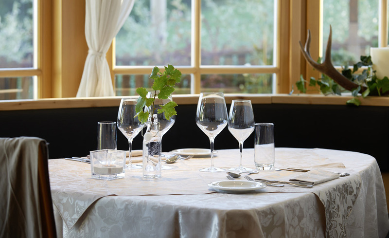 Romantisches Dinner im kulinarischen Chalet Grumer in Südtirol