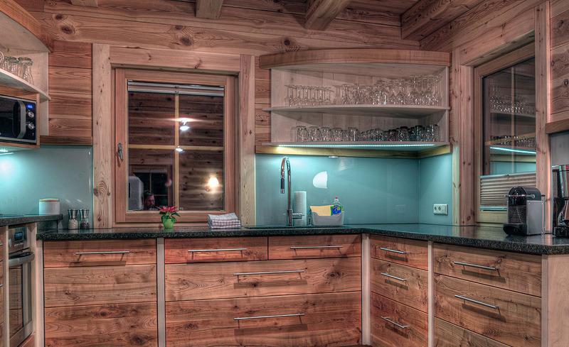 Kochen und Genießen in der voll ausgestatteten Küche im CHALET4YOU