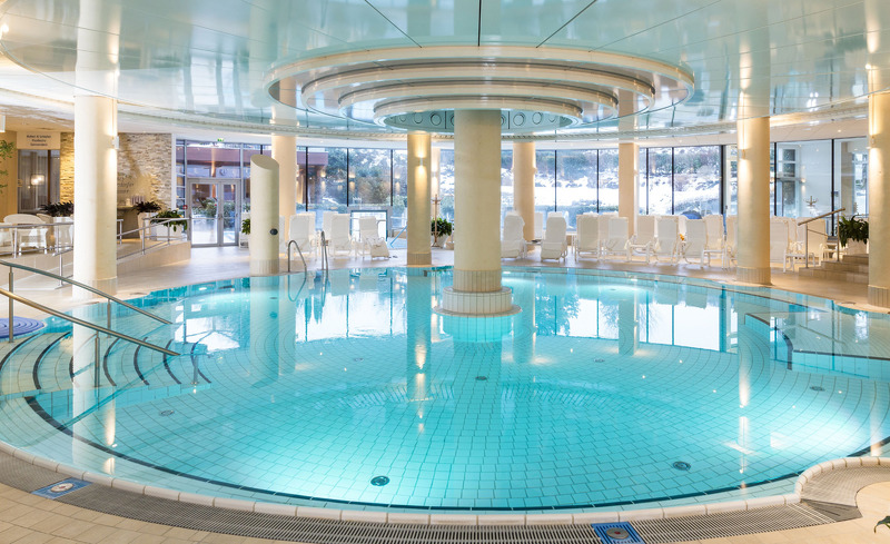 Innentherme im Hotel Der Steirerhof- © Hotel & Spa Der Steirerhof Bad Waltersdorf