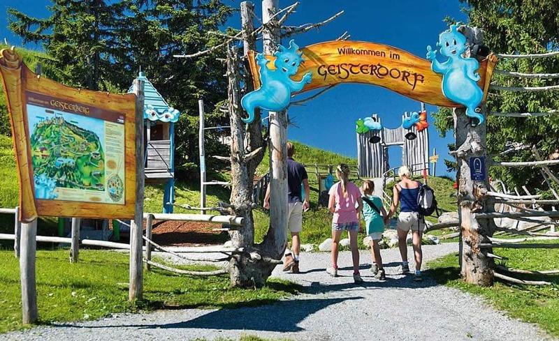 Ausflugsziel Geisterdorf  - Familienurlaub im Hotel Alpendorf