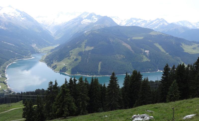 Wunderschöne Berglandschaft im Salzburger Land