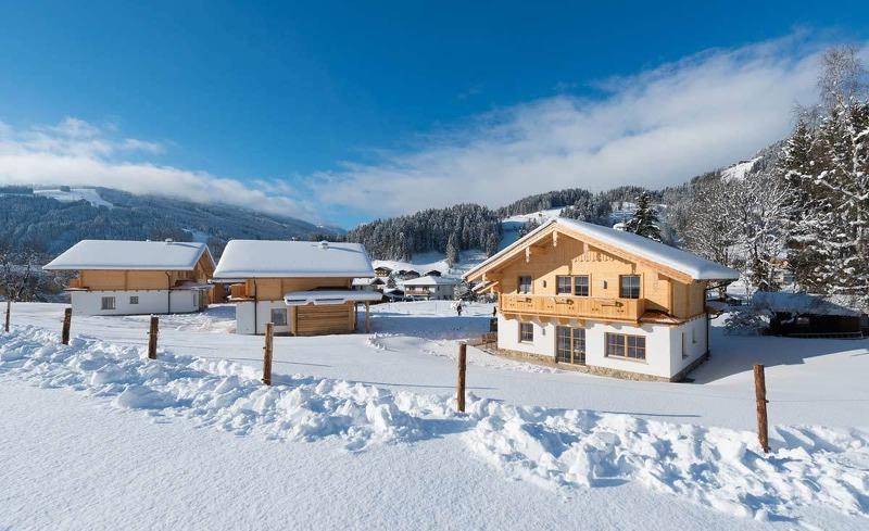 Winterwonderland Wagrain in den Lehenriedl Chalets