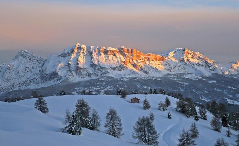 Urlaub am Südtiroler Berg Sas-dla-Crusc