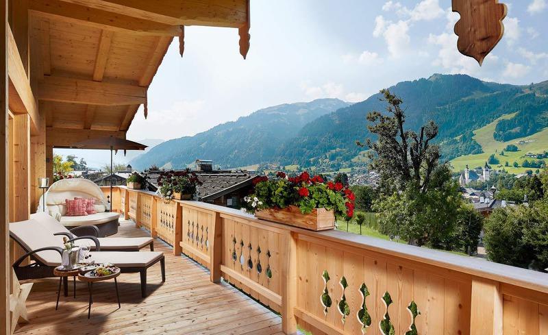 Relaxen und die Natur geniessen in Kitzbühel in Tirol