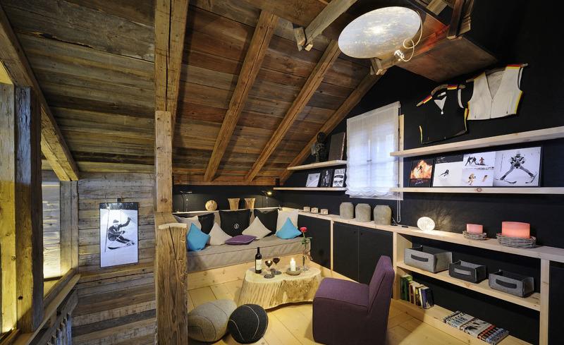 Vebringen Sie gemütliche Stunden in der Kuschelecke Ihrer privaten Unterkunft im Bergdorf Priesteregg