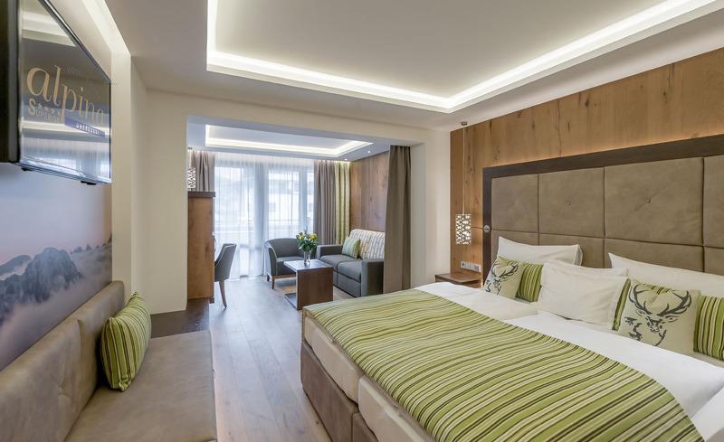 Das Hotel Alpina Deluxe besticht durch seine edlen, komfortablen Zimmer