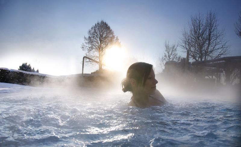 Verbringen Sie revitalisierende Stunden im hoteleigenen, luxuriösen Wellnessbereich