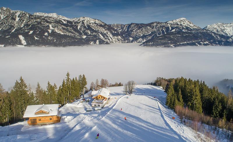 Lodges an der Skipiste - Skifahren & Snowboarden in Schladming Dachstein