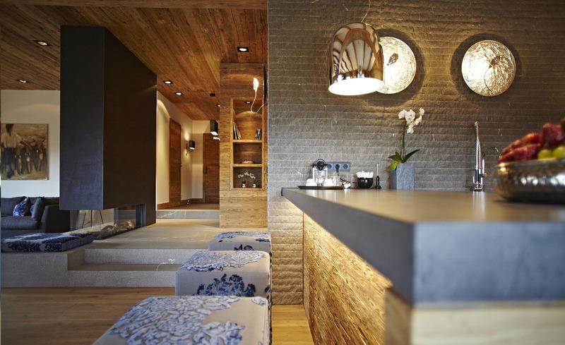 Hochwertig ausgestattete Küche im Chalet F für Ihren Genussurlaub