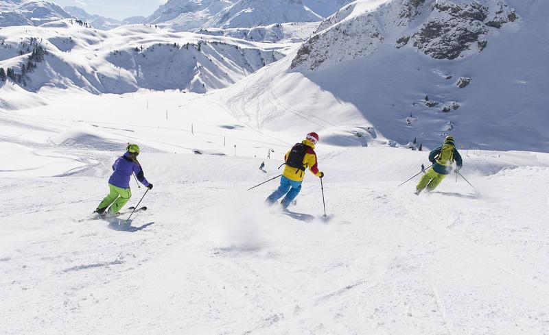Pistenspaß am Arlberg in Vorarlberg - Aadla Walser Chalets