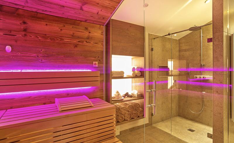 Chalets in Bayern- Nutzen Sie die private Sauna in Ihrem Chalet