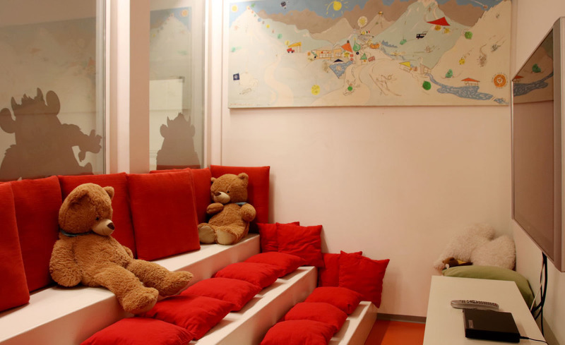 Kinderlounge im Hotel Rote Wand in Lech am Arlberg