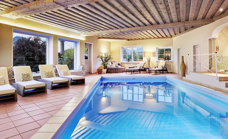 Der Spa-Bereich des Tennerhofes verfügt unter anderem über ein Hallenbad und eine finnische Sauna