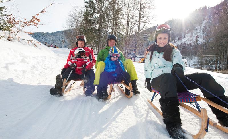Hotel Verwall- Entdecken Sie Rodelspaß für die ganze Familie in der Skiregion Silvretta-Ischgl