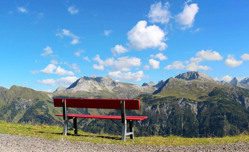 Sommeridylle in Lech am Arlberg in Vorarlberg