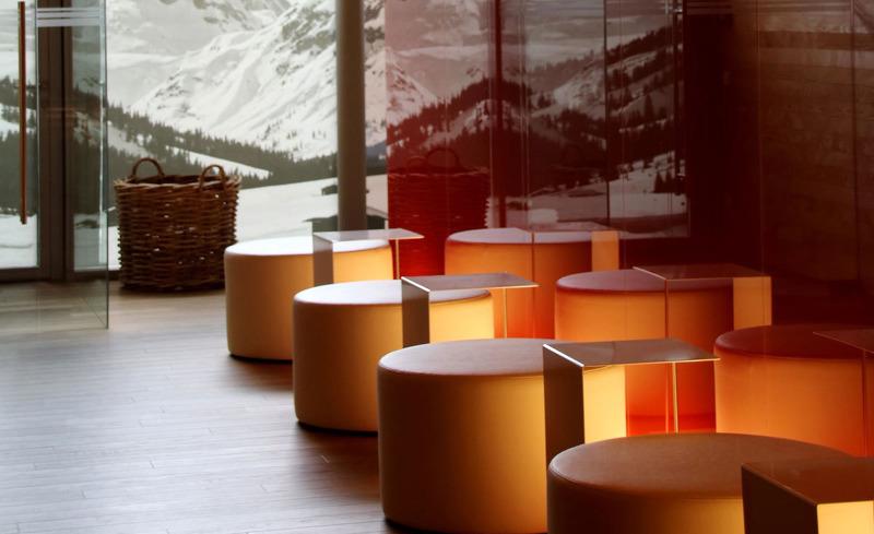 Moderne und stilvolle Einrichtung im Alpen Sport Resort Rote Wand