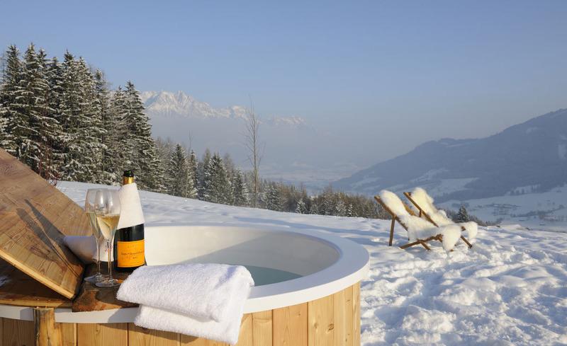 Wellnessurlaub in den Salzburger Bergen im Chalet Priesteregg