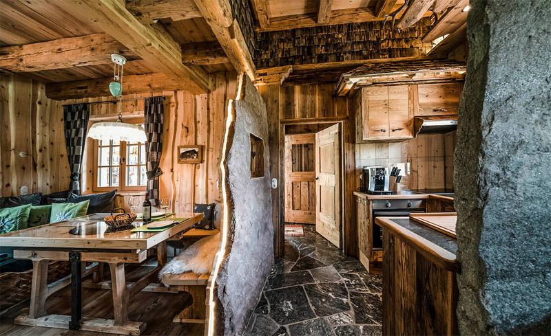 Luxuriöse und komfortable Ausstattung in den Luxuschalets Moll in Tirol