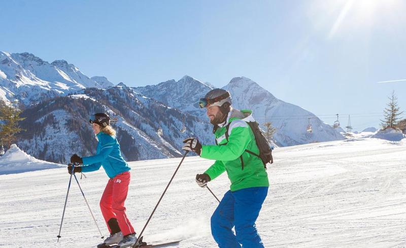sonnen-skilauf
