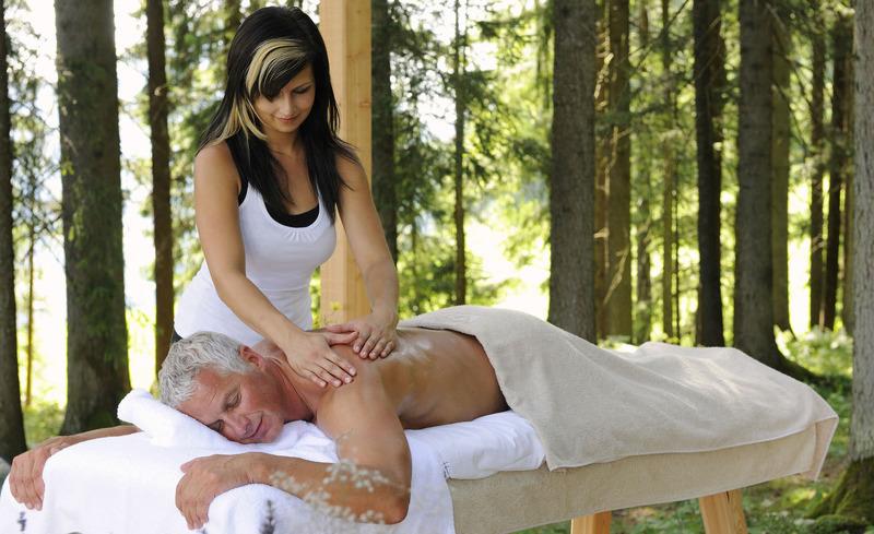 Für ganzheitliches Wellness ist im Bergdorf Priesteregg gesorgt