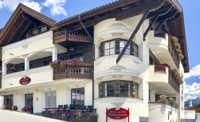 Hotel Toalstock von Außen