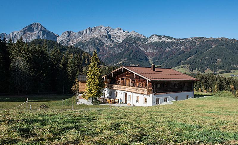 Sommerurlaub in Salzburg- das auf einem Hochplateau in Annaberg-Lungötz gelegene Bauernhaus Käth und Nanei