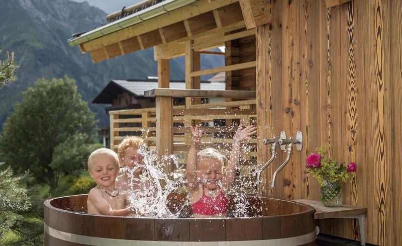 Urlaub mit Kindern im Chalet in Vorarlberg