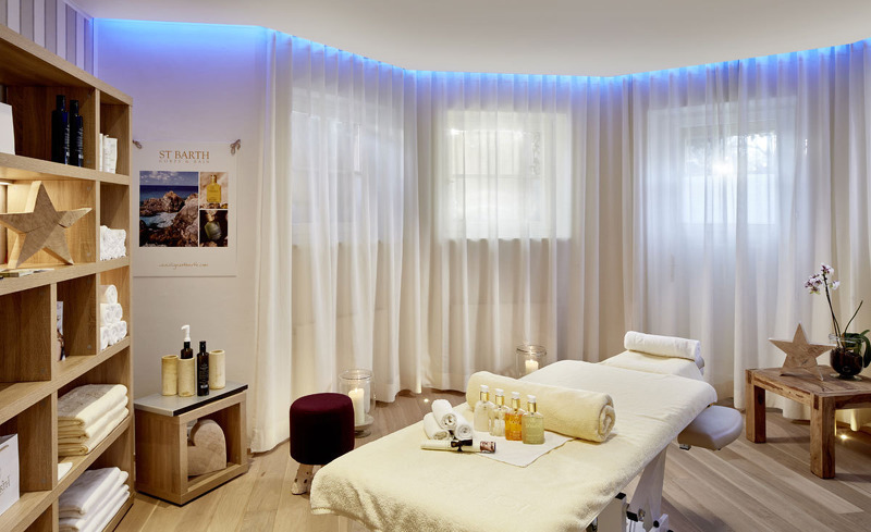 Massageraum im Spa de Charme