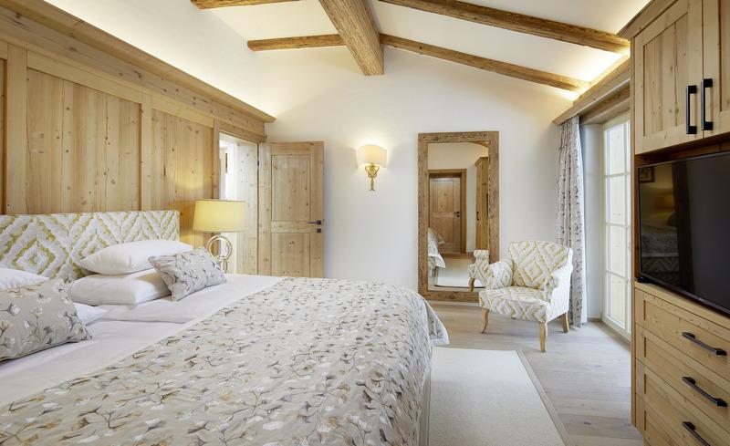 Individualität und Luxus finden Sie in allen Räumen Ihres Luxus-Chalets in Kitzbühel